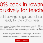 Let's Go Back To School with a Teacher Appreciation Event at #Staples!