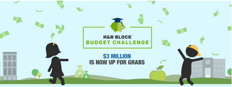 Join the H&R Block Budget Challenge–Let's do it in 2016!